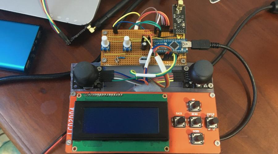 nrf24l01 arduino remote radio control rc